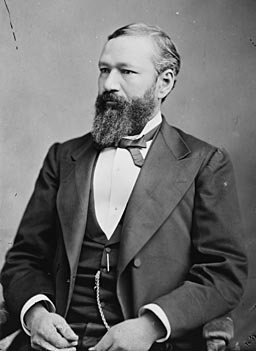 P.B.S. Pinchback, the first black governor in the United States.                                             (Mathew Brady or Levin Handy)