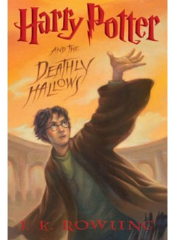 """Harry Potter and the Deathly Hallows"" (Book 7), by J. K. Rowling (Author)and Mary GrandPre (Illustrator)."