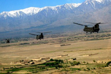 Foward Operating Base Salerno in the province of Khost, Afghanistan.                                             (James Dewey)