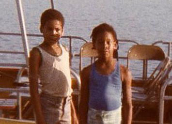 Marcia Bryant (right) and her brother Scott.                                             (Marcia Bryant)