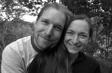 Stephan and Stephanie the day after they got engaged in the White Mountains of New Hampshire.                                             (Stephan Fraizer)