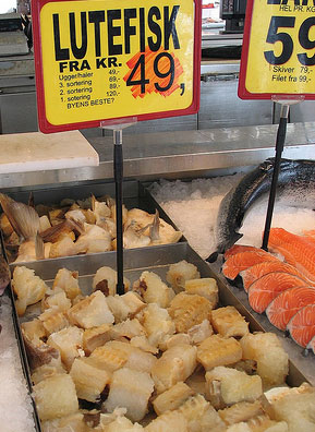 Mmmm! Lutefisk!                                             (adam drew / Flickr)