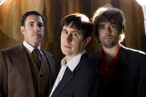The Mountain goats are Peter Hughes (left to right), John Darnielle and Jon Wurster                                             (Chrissy Piper)