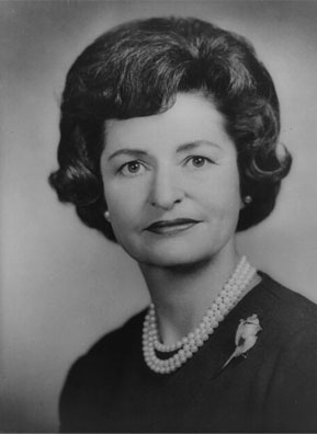 Lady Bird Johnson in 1962.                                             (White House)