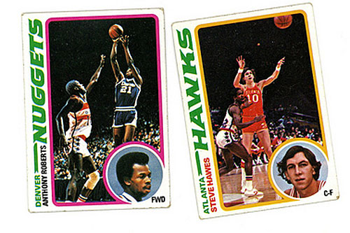 ...plus these basketball trading cards? Sixty-four cents.                                             (John Moe)
