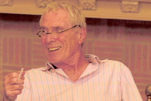 Poet Mark Strand                                             (Courtesy Mark Strand)