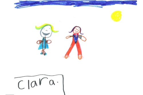 This is how Clara sees spring.                                             (Courtesy Grandville Christian School)