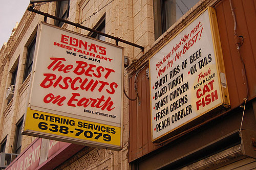 Edna's Restaurant on West Madison Street in Chicago.                                             (Amy C. Evans)