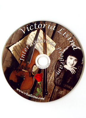 "Victoria Lisina's CD ""International Program"" features her original compositions in eight different languages.                                             (Courtesy Victoria Lisina)"