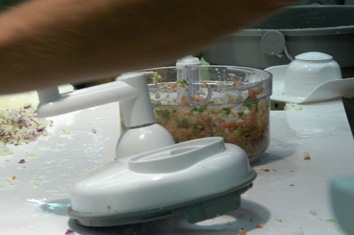 The finished product: fresh salsa.                                             (Marc Sanchez)