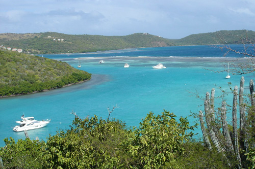 Culebra is roughly half the size of Manhattan and has fewer than 2000 full-time residents.                                             (Robert Schroeder)