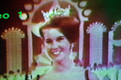 A picture of Debra Barnes Snodgrass being crowned Miss America 1968.  Barnes Snodgrass was the reigning Miss Kansas when she won that year.                                             (Missy Belote)