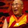 Dalai Lama speaking on happiness and responsibiliy