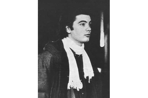 Roky Erickson as a young man.                                             (Bob Simmons)
