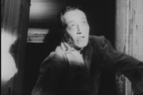 "John Russo in ""Night of the Living Dead"" playing a zombie who eventually is killed by a tire iron.                                             (The Walter Reade Organization)"