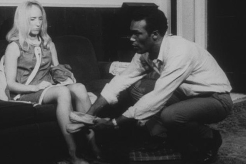 "Ben giving Barbara slippers in ""Night of the Living Dead.""                                             (The Walter Reade Organization)"