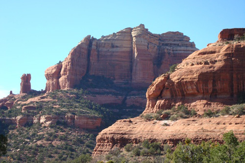 Mark Delmonte has been spending a lot of time on the road. Here's a picture from Sedona, Ariz.                                             (Mark Delmonte)
