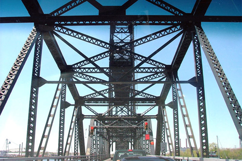 The Jordan Bridge crosses the Elizabeth River in southeastern Virginia, connecting Norfolk to Portsmouth. At 80 years old, it is the oldest drawbridge in the state. On Saturday it is shutting down permanently.                                             (City of Chesapeake)