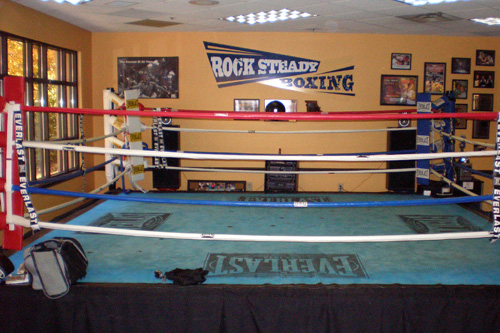 Rocky Steady Boxing Gym is located on the east side of Indianapolis, Ind.  The gym was started by Scott Newman after he was diagnosed with Parkinson's.                                             (Colleen Iudice)