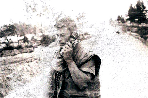 Bill Painter, in the field in Vietnam serving as an engineer in the Marine Corps.                                             (Courtesy Bill Painter)
