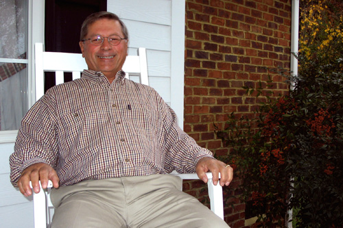 Bill Painter, in 2008, at home in Goochland, Virginia.                                             (Courtesy Lee Beltrone)