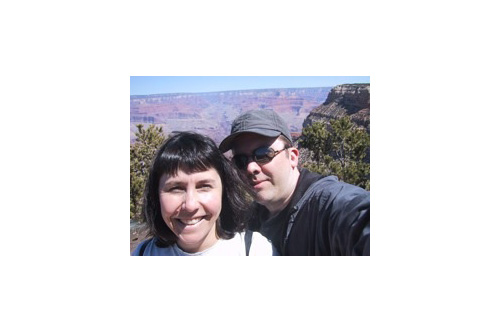 Happier Times: Maury and Cathy Duchamp at the Grand Canyon, 2002                                             (Maury Duchamp)