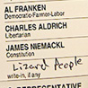 "A Disputed ""Lizard People"" Ballot"