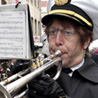 A Mortuary Band Trumpeter